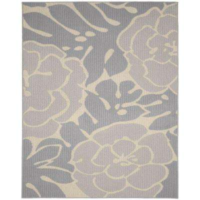 Valencia Silver/Ivory 8 ft. x 10 ft. Area Rug