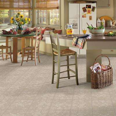 Rockport Marble Sand 12 in. x 12 in. Residential Peel and Stick Vinyl Tile Flooring (45 sq. ft. / case)