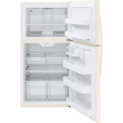 21.1 cu. ft. Top Freezer Refrigerator in Bisque, ENERGY STAR