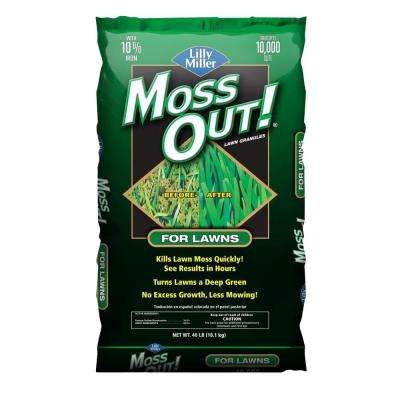 40 lbs. Moss Out! Lawn Granules