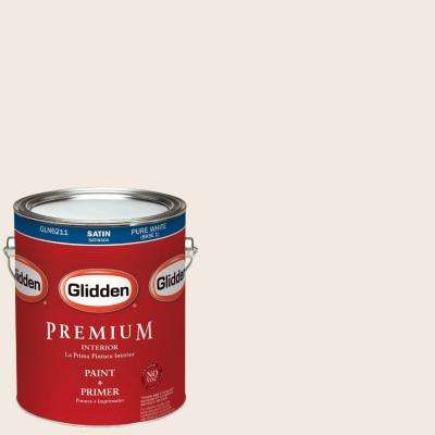 1-gal. #HDGWN03 Antique White Satin Latex Interior Paint with Primer