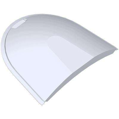 55 in. x 41 in. Polycarbonate Dome Window Well Cover
