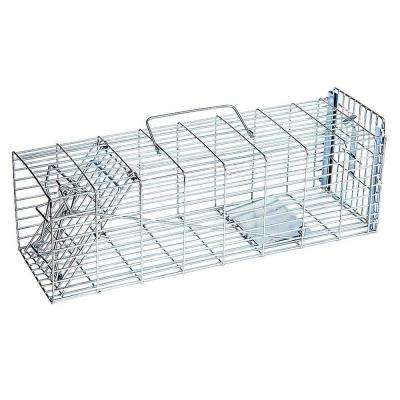Answer Single Door Live Animal Cage Trap for Small Size Pests Steel Wire