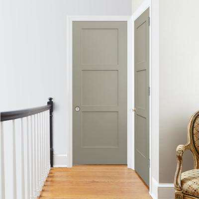 30 in. x 80 in. Birkdale Desert Sand Paint Right-Hand Smooth Hollow Core Molded Composite Single Prehung Interior Door