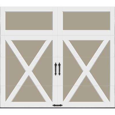 Coachman Collection Intellicore Insulated Crossbuck Solid Garage Door