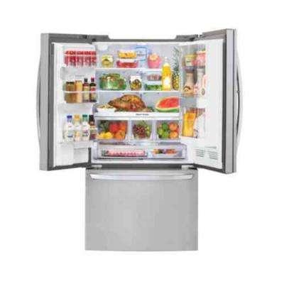 31.5 cu. ft. French Door Refrigerator with Door-in-Door in Stainless Steel