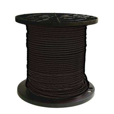 1000 ft. 8 Black Stranded THHN Wire