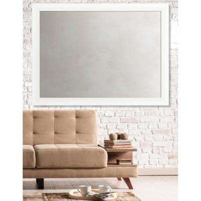 Acadia 35 in. x 47 in. Transitional Framed Antique Mirror