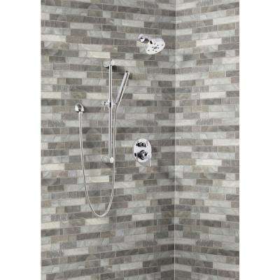 Tarvos Interlocking 11.81 in. x 11.81 in. x 6 mm Glass Mesh-Mounted Mosaic Tile (14.55 sq. ft. / case)