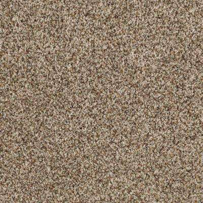 Timberwolf II - Color Seashell Texture 12 ft. Carpet