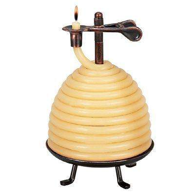 50 Hour Beehive Coil Candle