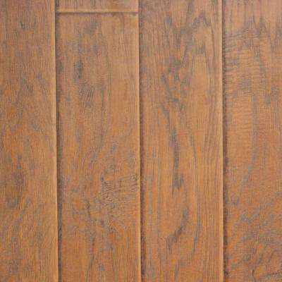Sand Hickory 8 mm Thick x 11.52 in. Wide x 46.52 in. Length Click Lock Laminate Flooring (18.60 sq. ft. / case)