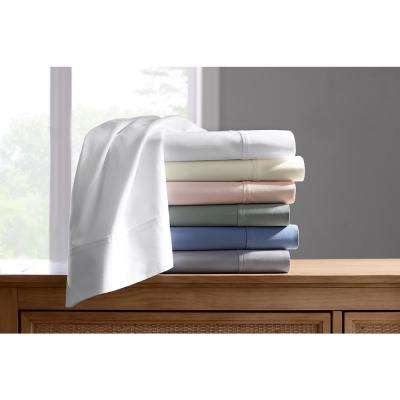 300 Thread Count Wrinkle Resistant American Cotton Sateen Sheet Set