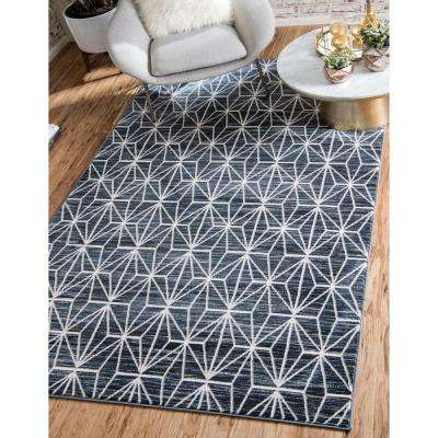 Uptown Collection by Jill Zarin™ Fifth Avenue Navy Blue 8' 0 x 10' 0 Area Rug