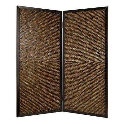 ANACAPA 7 ft. Multi-color 2-Panel Room Divider