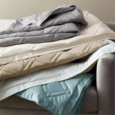 Classic Percale Quilted Blanket