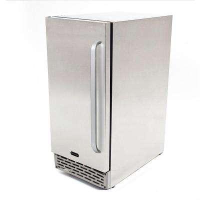 3.2 cu. ft. Indoor and Outdoor Refrigerator in Stainless Steel