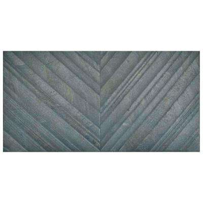 Osaka Marengo Deco 12-1/2 in. x 24-5/8 in. Porcelain Wall Tile (11.01 sq. ft. / case)