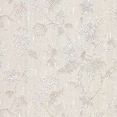 74.26 sq. ft. Kallisto Taupe Floral Trail Wallpaper