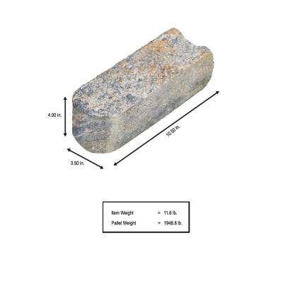 SplitRock 10.5 in. x 3.5 in. x 4 in. Yukon Concrete Edger (168 Pcs. / 147 Lin. ft. / Pallet)
