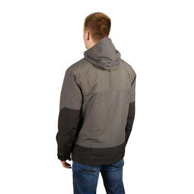 Men's 3X-Large Gray HYDROBREAK Layer Rain Shell Jacket