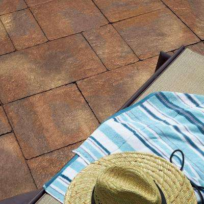 Capriana Patio on a Pallet 10 ft. x 10 ft. x 2 in. Manzanita Step Stone (72-Piece/ 98 sq. ft./ Pallet)