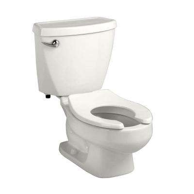 Baby Devoro FloWise 2-piece 1.28 GPF Single Flush Round Toilet in White