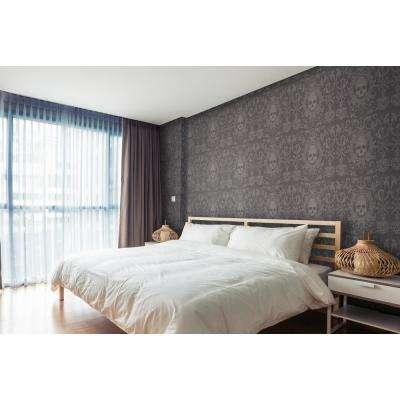 Debut Collection Skull Box in Black Premium Matte Wallpaper