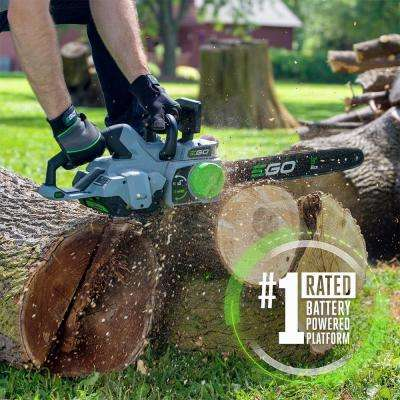 18 in. 56V Lithium-Ion Cordless Electric Chainsaw (Tool Only)