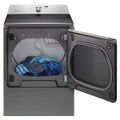 8.8 cu. ft. 240-Volt Chrome Shadow Electric Vented Dryer with Advanced Moisture Sensing, ENERGY STAR