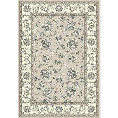 Ancient Garden Soft Grey/Cream 9 ft. 2 in. x 12 ft. 10 in. Indoor Area Rug