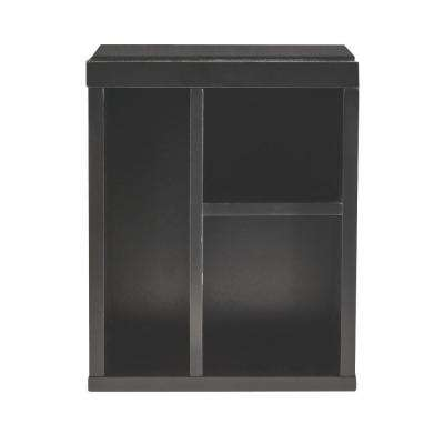 Craft Space 3-Cubby Right Organizer in Silhouette
