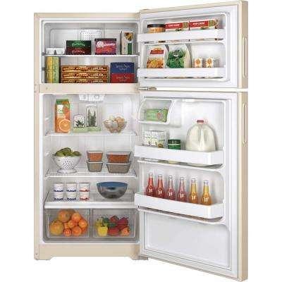 14.6 cu. ft. Top Freezer Refrigerator in Bisque