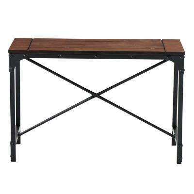 Industrial Empire 36 in. W Bench in Black