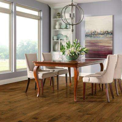 Plano Oak Saddle 3/4 in. Thick x 3-1/4 in. Wide x Varying Length Scraped Solid Hardwood Flooring (22 sq. ft. / case)