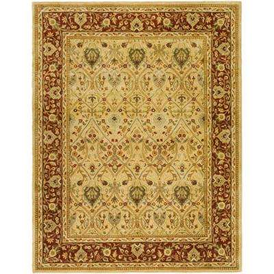 Persian Legend Ivory/Rust 7 ft. 6 in. x 9 ft. 6 in. Area Rug