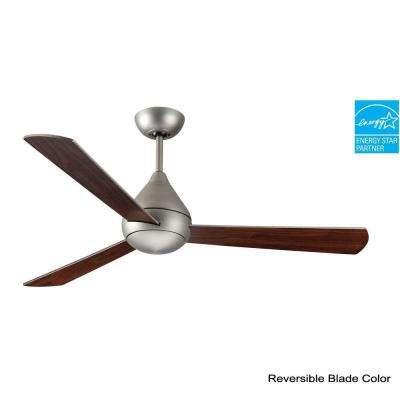 Mc Coy 52 in. Satin Steel Ceiling Fan
