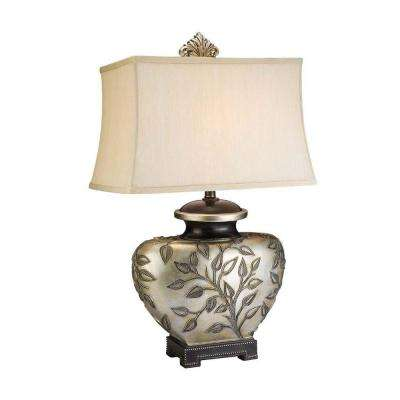 30.5 in. Antique Brass Roman Table Lamp