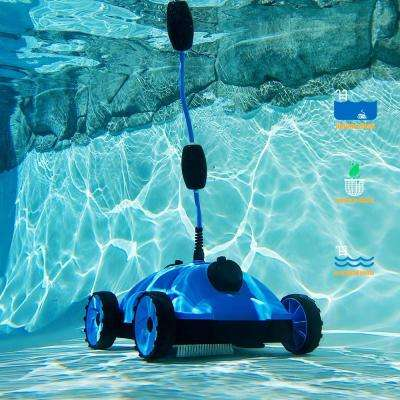 Robotic Style Automatic Floor Vacuum Pool Cleaner for In and Above Ground Pools