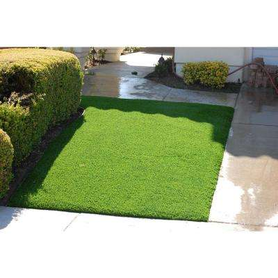Jade 50 Artificial Grass Synthetic Lawn Turf Carpet for Outdoor Landscape 7.5 ft. x Custom Length