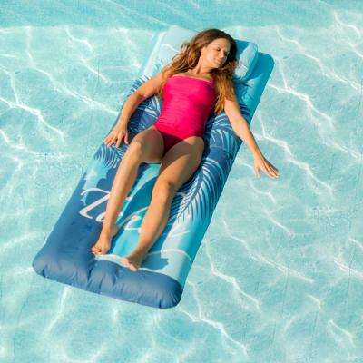 Drift and Escape Tahiti Palm Tree 76 in. Inflatable Pool Mattress
