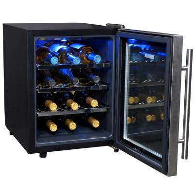 12-Bottle Thermoelectric Wine Cooler