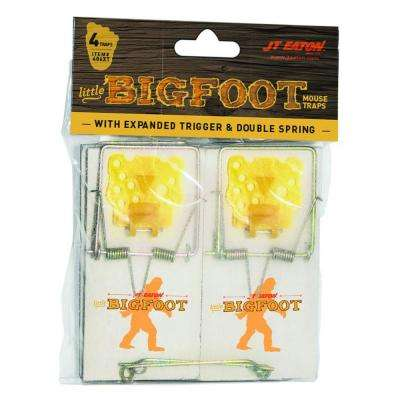 Little Bigfoot Mouse Size Snap Traps with Expanded Trigger