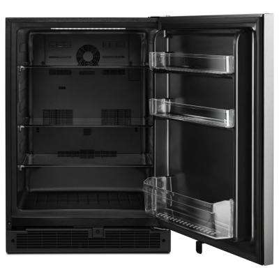 5.1 cu. ft. Undercounter Refrigerator in Fingerprint Resistant Stainless Steel