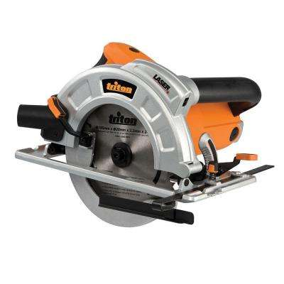 10 Amp 7-1/4 in. Precision Laser Guided Circular Saw