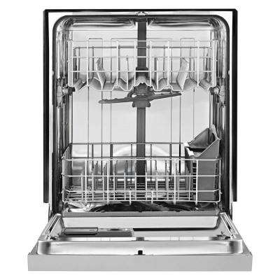 Front Control Built-In Tall Tub Dishwasher in Monochromatic Stainless Steel w/ Stainless Steel 1 Hour Wash Cycle, 50 dBA