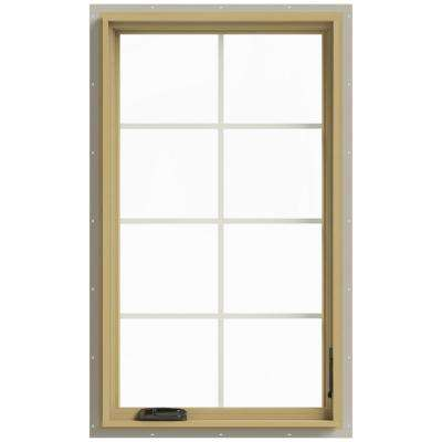 28 in. x 48 in. W-2500 Right-Hand Casement Aluminum Clad Wood Window