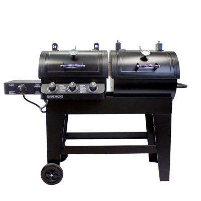 3-Burner Dual Function Gas/Charcoal Grill