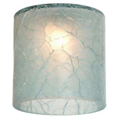 Ambiance Glacier Blue Crackle Directional Shade