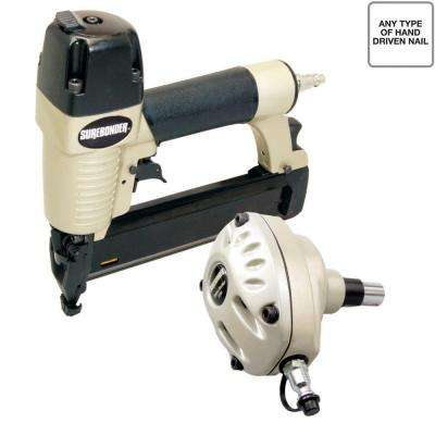 Pneumatic Palm Nailer and 2 in. x 18-Gauge Brad Nailer Combo Kit